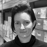 Sandie Lajer : Warehouse apprentice