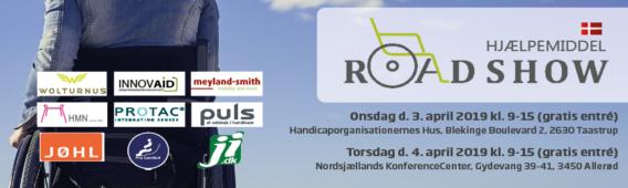 Hjælpemiddelroadshows i Taastrup og Allerød 3.-4. april