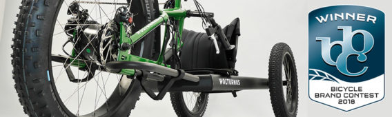 Wolturnus Fatbike wins Bicycle Brand Contest 2018