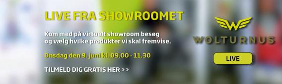 LIVE fra showroom