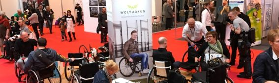 Wolturnus at Naidex 2018 in Birmingham