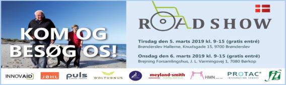 Kom til hjælpemiddelroadshows i Brønderslev og Børkop