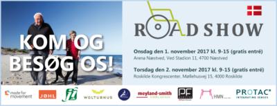Kom til hjælpemiddelroadshows i Næstved og Roskilde