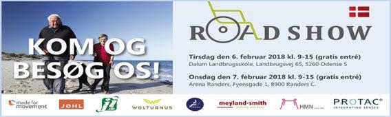 Kom til hjælpemiddelroadshows i Odense og Randers
