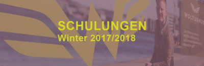 Schulungskalender Winter 2017/2018