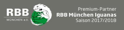 Sponsoring 2017/2018: RBB München Iguanas