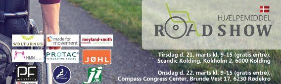 Hjælpemiddelroadshows 21-22/3 i Kolding og Rødekro